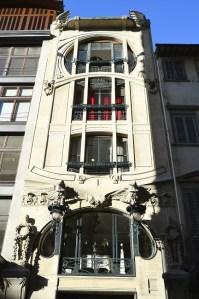 Il Liberty fiorentino - the Florentine art nouveau - CASA GALLERIA VICHI Borgo Ognissanti, 26