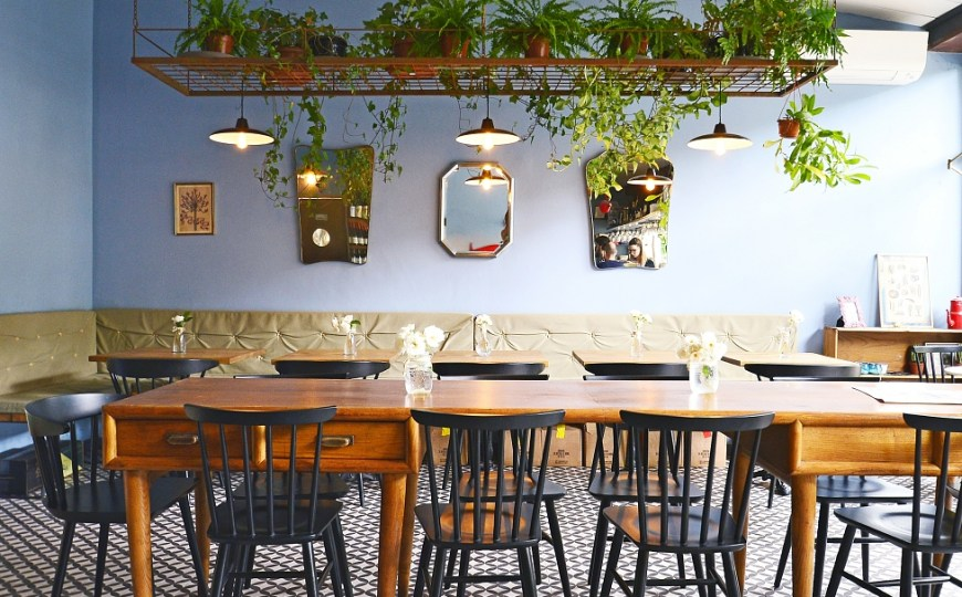 Santa Rosa Bistrot: outdoor & eco-friendly oasis in San Frediano