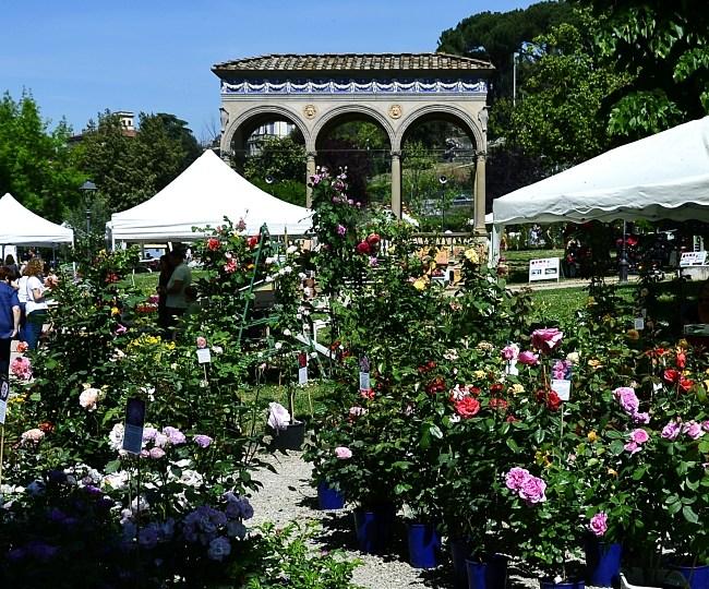 Gardens of Florence #8: giardino dell'Orticultura, a locals' garden in the city centre
