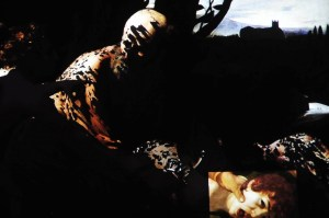 "history of art - ""Il sacrificio di Isacco"" (Caravaggio - Ufizzi Gallery - Florence), according to filmmaker Peter Greenaway"