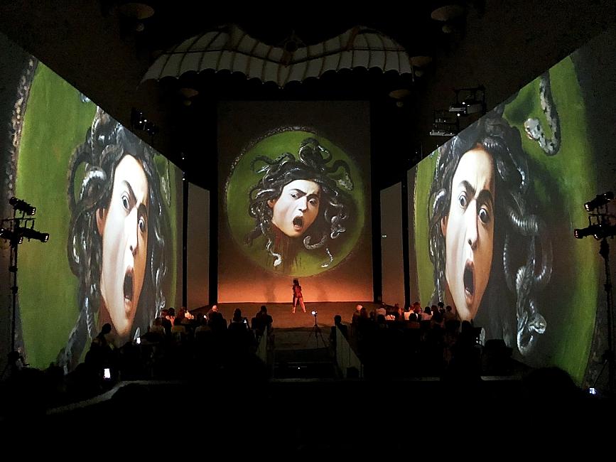 "Lyric Dance Company presents the new version of ""Caravaggio. Amor Vincit Omnia"" at Teatro Puccini"