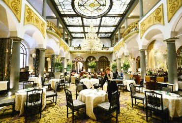 St. Regis Winter Garden Bar, a five star garden in Florence