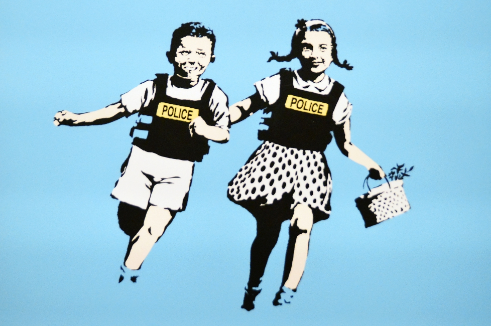 """""""BANKSY – This is not a photo opportunity,"""" Banksy at Palazzo Medici Riccardi"""