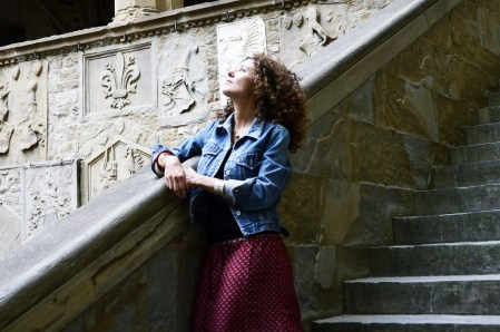 Giulia Gianfranchi at Bargello National Museum - Florence