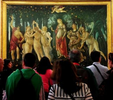La primavera - Sandro Botticeli - Uffizi Gallery - Florence