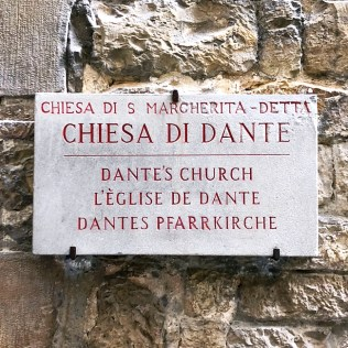 Florence literary walk - Dante´s house