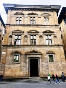 Florence literary walk - Palazzo Salimbeni
