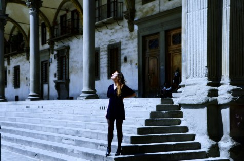 María Muñoz - Piazza Santissima Annunziata - Florence