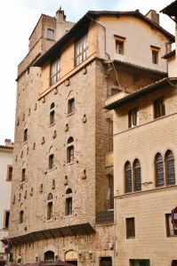 Towers of Florence - Torre dei Foresi - via Porta Rossa