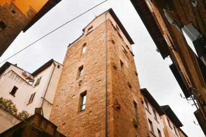Towers of Florence - Torre dei Marsini - Borgo San Jacopo