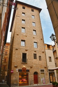 Towers of Florence - piazza Sant'Elisabetta