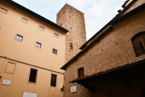 Towers of Florence - Torre della Castagna - piazza San Martino