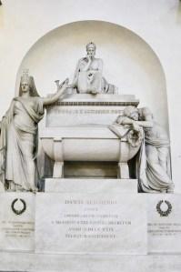 Basilica Santa Croce, Florence - Dante Alighieri