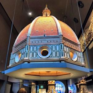 Brunelleschi's model for the dome - Museo dell'Opera del Duomo, Piazza del Duomo, 9, 50122 Florence