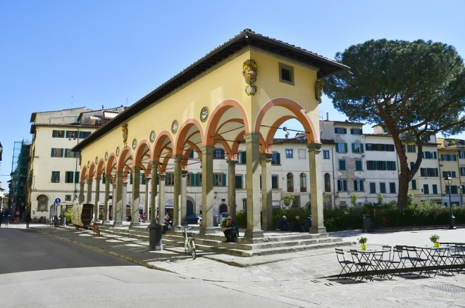 The impact of the coronavirus on Florence, the plague of the 21st century - Loggia del Pesce