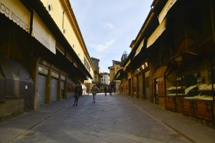 The impact of the coronavirus on Florence, the plague of the 21st century - Ponte Vecchio