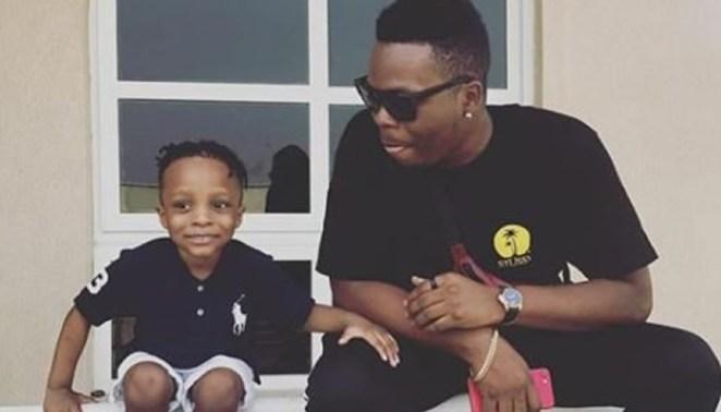 Image result for olamide and son