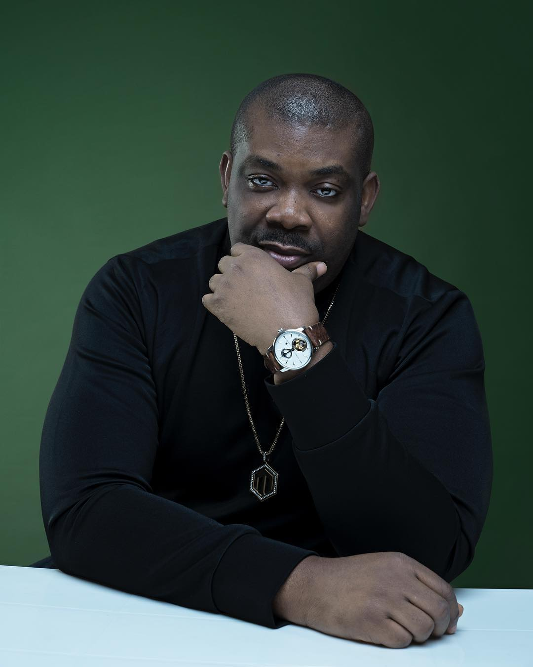 Hilarious drawing of Don Jazzy that makes him want to Compensate artist