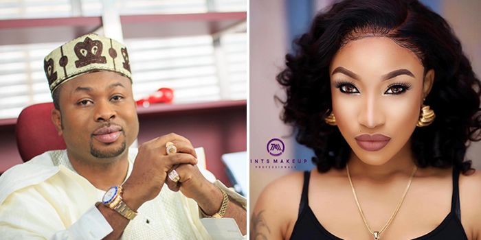 Image result for Churchill and tonto Dikeh