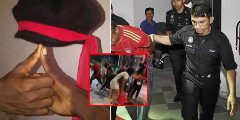 Nigerians arrested in Malaysia after a cult clash between Aiye and Vikings confraternity members (video)