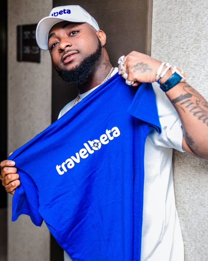 Davido Bags New Ambassadorial Deal With Online Travel Agency