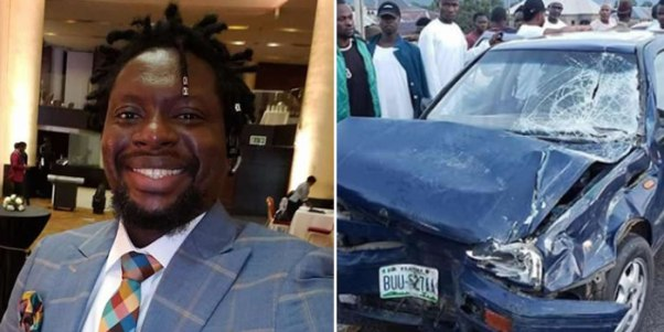 Image result for Klint da Drunk escapes near-fatal accident, shares photos
