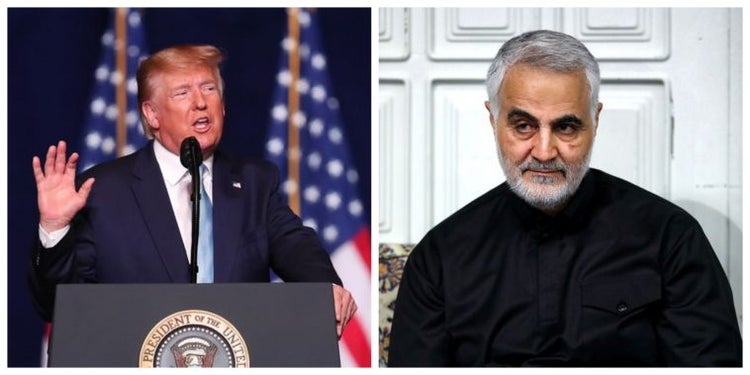 Iran issues arrest warrant for Trump over killing of top commander, Qasem Soleimani
