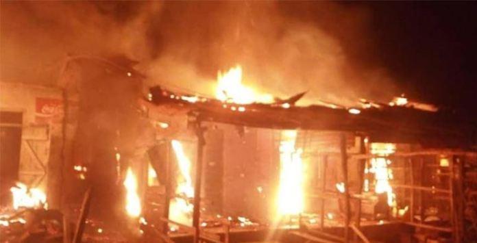 Fire Razes Ondo Apc Chieftain's House
