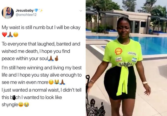 I did plastic surgery and it's killing me, Nigerian Lady Cries out, advises women