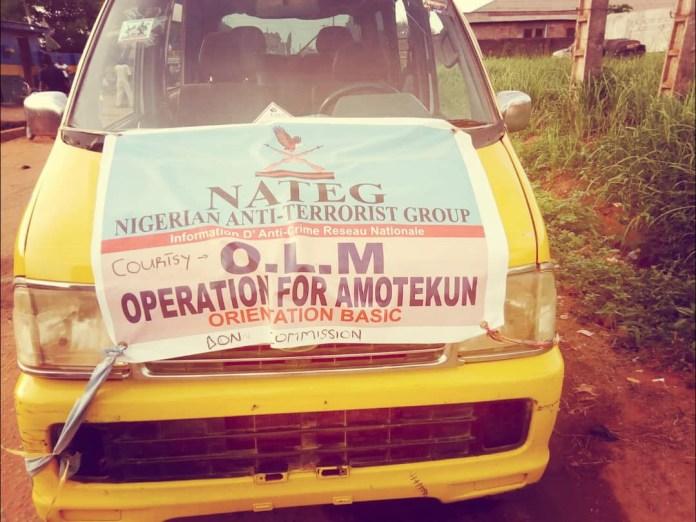 PHOTOS: Fake Amotekun officers arrested in Ogun