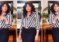 Actress Omotola runs back to music years after failing at it, vows to succeed