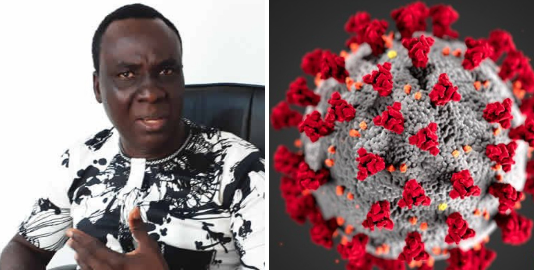 Nigerian professor, Cyril Otoikhian says COVID-19 does not exist