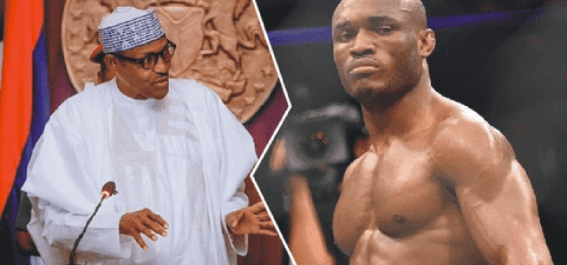 Buhari hails Usman for retaining UFC title