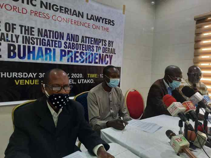 Lawyers pledged to defend Nigeria's constitution and sovereignty