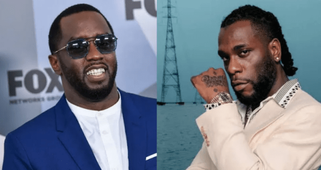 Burna Boy's 'Twice As Tall' is album of the year, Diddy praises