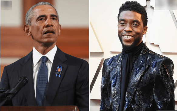 Barack Obama labels Chadwick Boseman 'blessed' as he reacts to his death