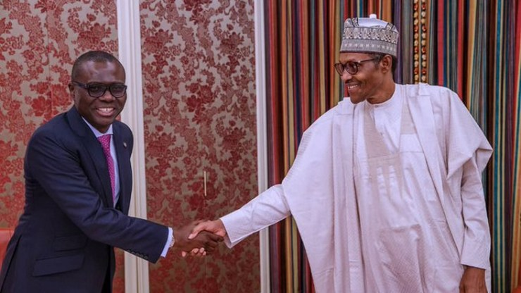 #EndSars: Lagos State governor, Babajide Sanwo-Olu jets out to Abuja for a meeting with Buhari