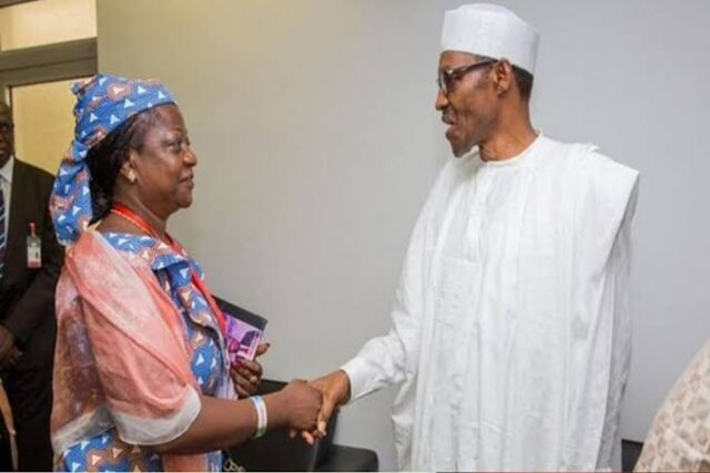 JUST IN: Buhari nominates Lauretta Onochie, three others as INEC Commissioners