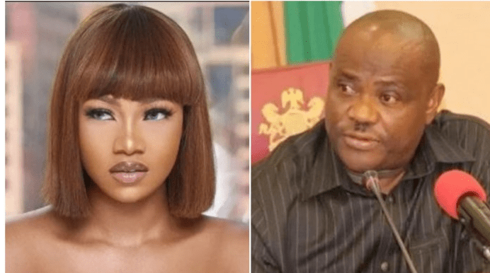 Tacha berates Wike for banning #EndSars protest in Rivers state