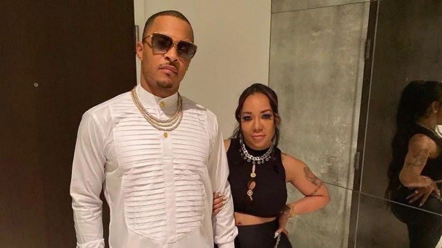 Rapper T.I. And Wife