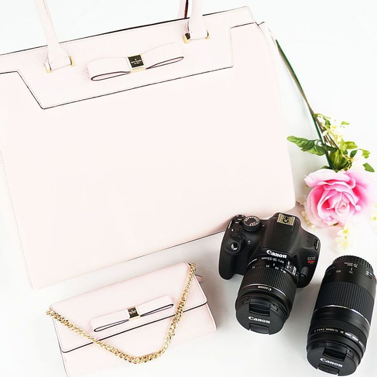 Wanna win a Canon Rebel package and Kate Spade?