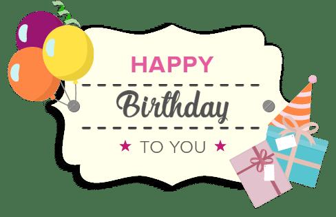 birthday gift card image