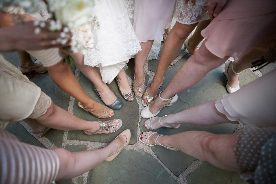 Danas wedding Bridal Feet