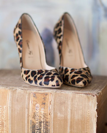 leopard print design shoes
