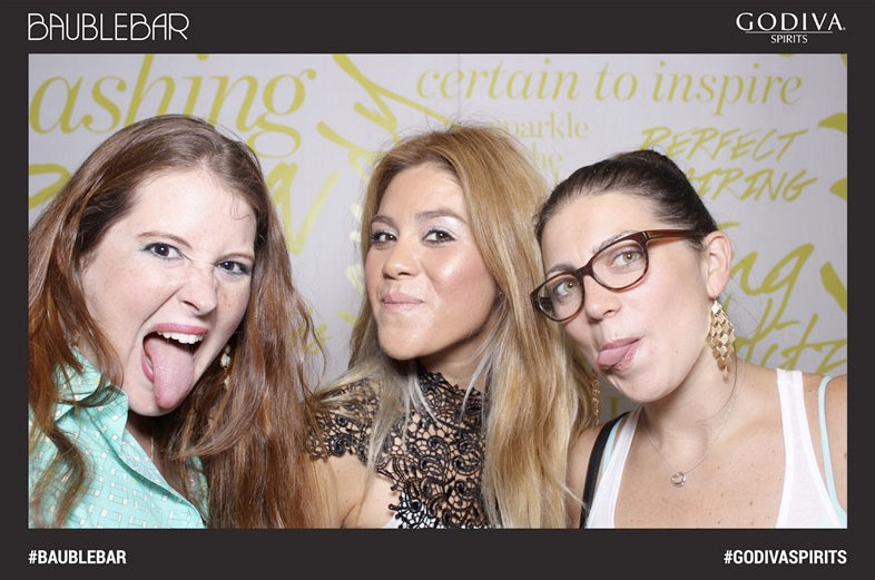Fun at Bauble Bar Beauty Event