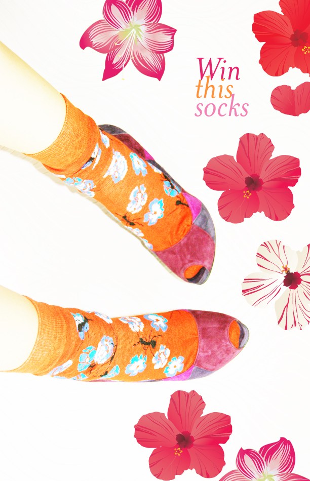 WithoutLipstick Socks Giveaway