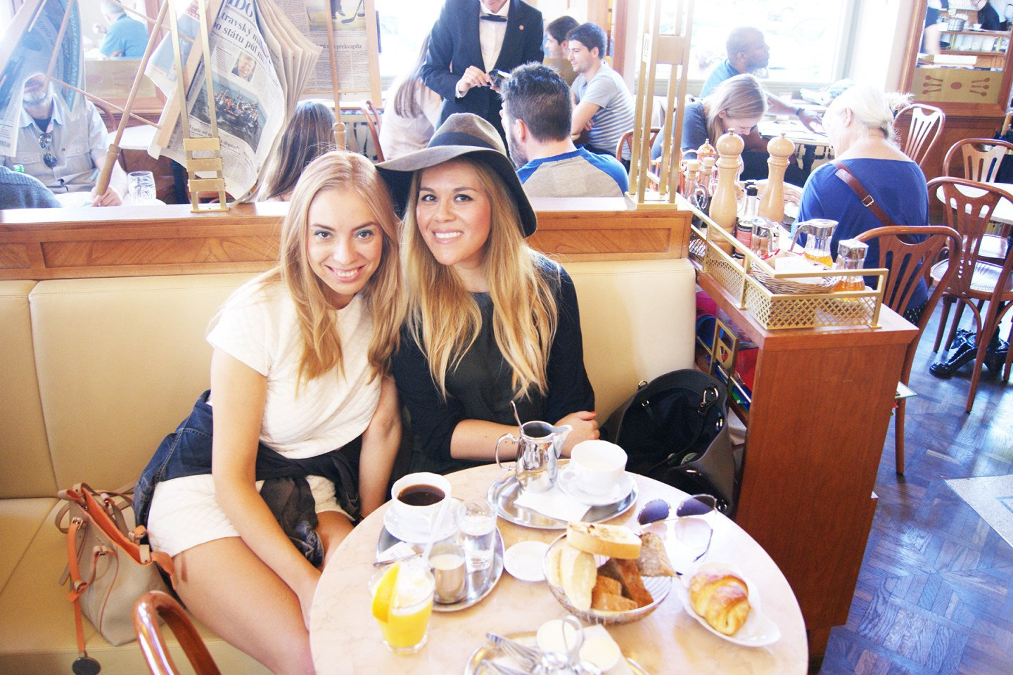 Brunch at the Savoy with my friend