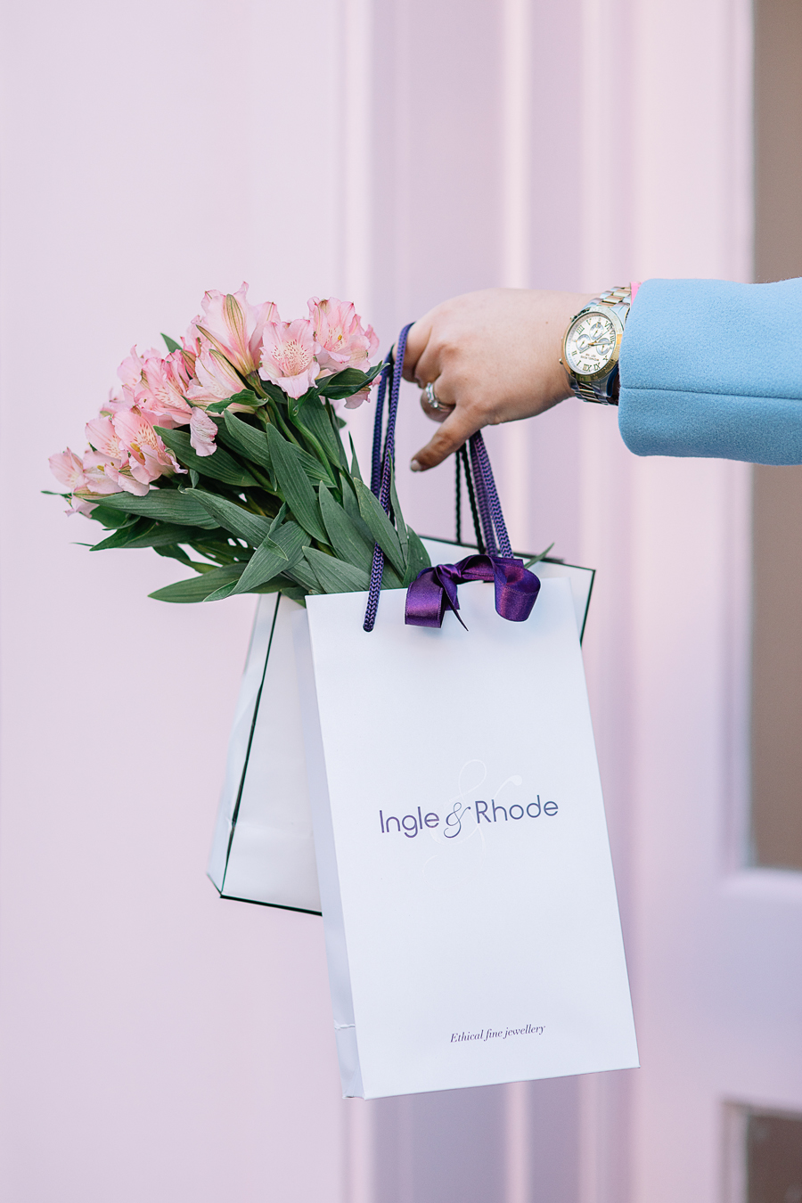 beautiful shopping bags Ingle & rhode