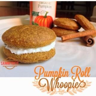 Pumpkin Roll Whoopie