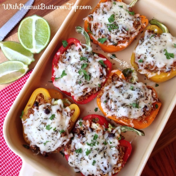 Santa Fe Style Stuffed Peppers